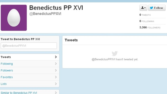 Could this be the Pope&#x27;s future Twitter account?