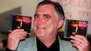 Bill Tarmey took a break from pulling pints to launch of his third album called 'After Hours' in 1996