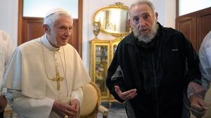 Pope Benedict and Fidel Castro