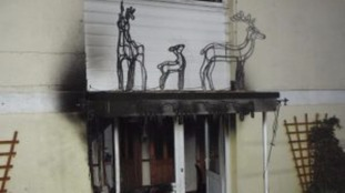 Man and two dogs rescued from Dorset house after Christmas lights blaze