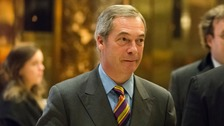 The former Ukip leader has said he wants to be a 'bridge' between Trump's US and the UK
