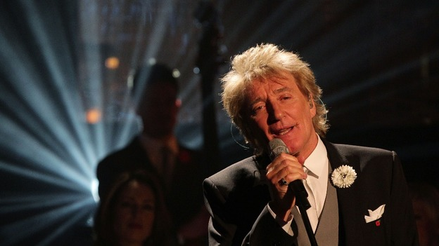 Music star Rod Stewart.