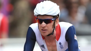 Olympic hero Bradley Wiggins.
