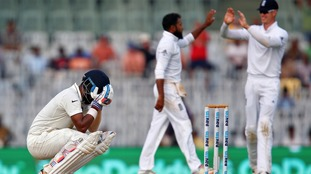 India v England third day fifth Test report: Rahul's 199 dents tourists
