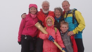 Sir Chris Bonington to auction Olympic torch