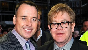 David Furnish and Elton John have a son, Zachary.