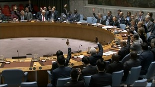 The UN Security Council.