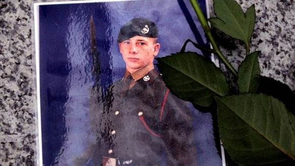 A picture of Philip Hewett who served with the 1st Staffords in Iraq and was killed on 16th July 2005
