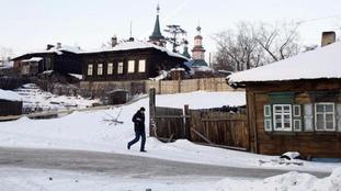 Irkutsk is in south Russia in Siberia.
