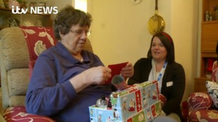 Angel nurses spread festive cheer to lonely patients in the New Forest