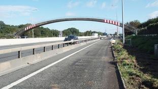 M5 closed overnight tonight near Bristol