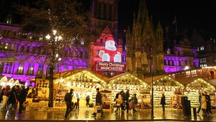 Police have stepped up patrols at Manchester's Christmas markets.