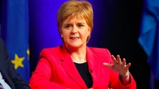 Scotland's First Minister, Nicola Sturgeon