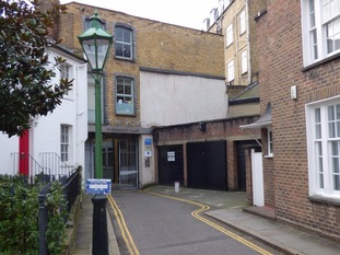 This garage in Chelsea sold for £360,000
