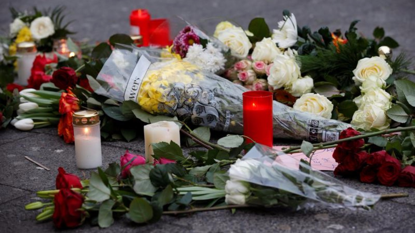Design Attack Berlin tributes paid to victims of berlin market attack itv