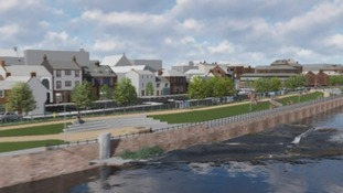 Dumfries flood defence scheme formally published