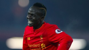 Sadio Mane scored in injury time. Photo: PA