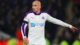 Newcastle midfielder Jonjo Shelvey banned and fined £100,000
