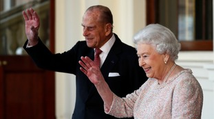 The Queen is now 90, while her husband Prince Philip is 95.