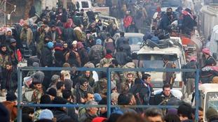 Aleppo evacuations