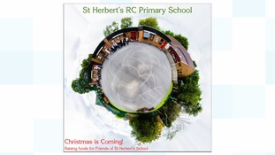 The CD cover for the charity single