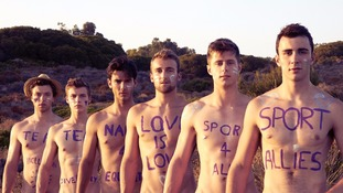 University rowing team strip off for naked calendar in bid to combat homophobia in sport