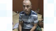David McDermott when he was arrested in Ghana