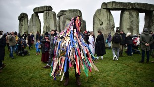 Thousands of people celebrated the winter solstice at Stonehenge.