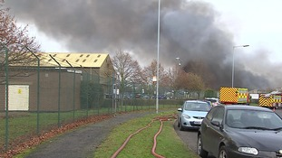 Neighbouring premises were evacuated during the fire.