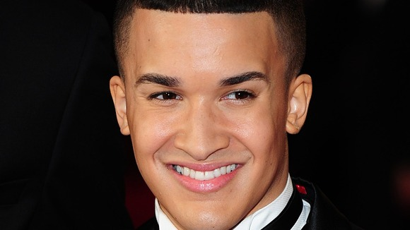 X Factor star Jahmene Douglas.
