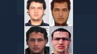 Several images have been released by police of alias-using Anis Amri.