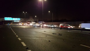 M6 Northbound closure between junction 7 and 8