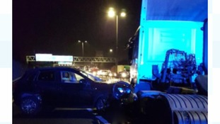 A collision has blocked the M6 Northbound