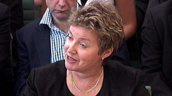 The BBC's former chief operating officer Caroline Thomson.