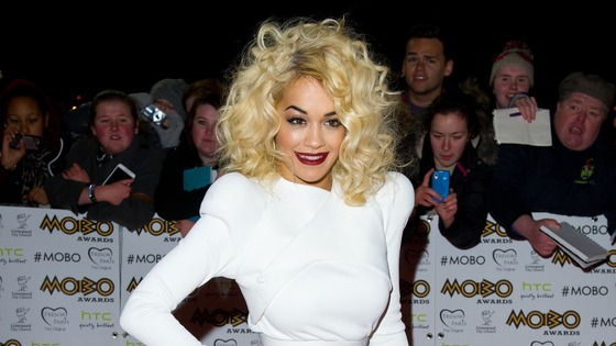 Pop star Rita Ora.