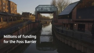 Multi-million pound scheme to better York flood defences