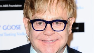 Pop legend Sir Elton John.