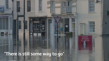 Some businesses in York are still closed almost a year after the Boxing Day floods.