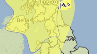 Met Office warning for strong winds Friday 23rd December