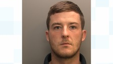 Anthony Robinson was jailed after he was caught couriering drugs on the M6