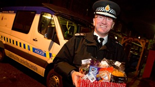 Chief constable delivers Christmas essentials to elderly and vulnerable