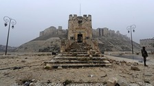 Aleppo's historic citadel was reclaimed by pro-Assad forces earlier this month.