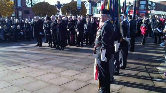 Marking Remembrance Day in Middlesbrough