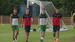 Some of Norwich City's young stars may look to head out on loan in January.