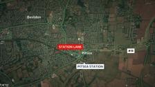 Station Lane, Pitsea.