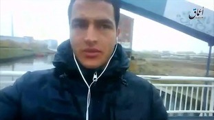 The video selfie recorded by Anis Amri.
