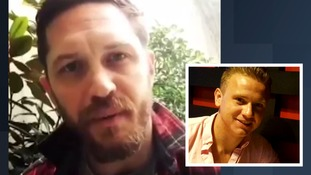Tom Hardy appeals for help in finding Corrie McKeague who went missing on a night out in Bury St Edmunds.