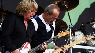 Rick Parfitt and Francis Rossi enjoyed huge success as part of Status Quo after meeting in 1965.