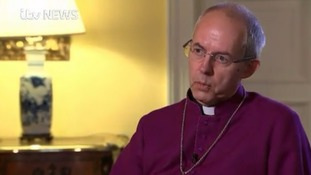Justin Welby told ITV News the 'unspeakable' bombardment of trapped civilians in Aleppo 'compared with some of the great atrocities of the last century'.
