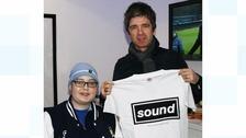 Callum Ballantine with Noel Gallagher